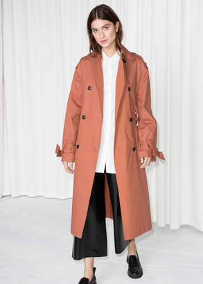 And other stories Belted Oversized Trenchcoat