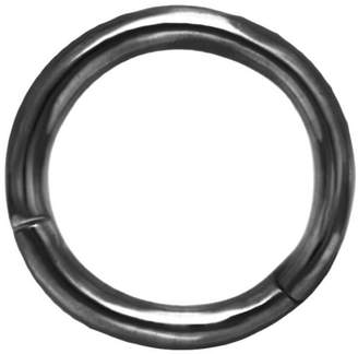 Maria Tash 6.5mm High Polish Single Hoop Earring - Black Gold