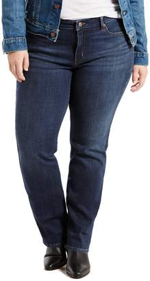 Levi's Levis Plus Size 414 Relaxed Fit Straight-Leg Jeans