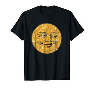 Man in the Moon Tshirt by Scarebaby Design