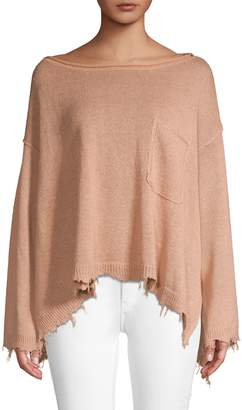 Free People Prism Solid Pullover Sweater