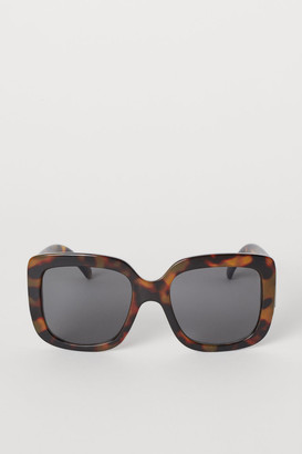 H&M Square Sunglasses - Brown