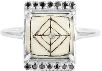 Black Diamond No 13 - Sami Rectangle Ring