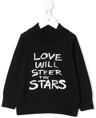 Mini Rodini Love knit jumper