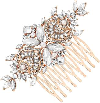 Jon Richard Emme Pearl And Crystal Navette Comb