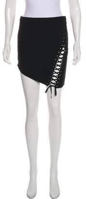 Mason Lace-Up Mini Skirt w/ Tags