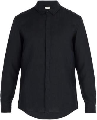 COMMAS Single-cuff linen shirt