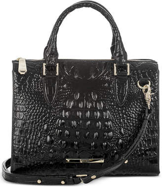 Brahmin Melbourne Anywhere Embossed Leather Satchel, Created for Macy's