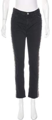 Each X Other Embellished Straight-Leg Jeans w/ Tags