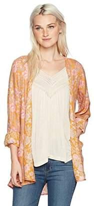O'Neill Women's Esperanza Woven Kimono Top