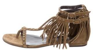 Saint Laurent Nu Pieds Studded Sandals