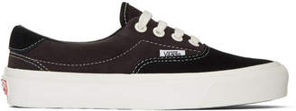 Vans Black and Brown Suede OG Era 59 LX Sneakers
