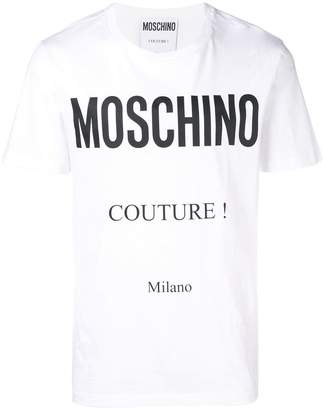 Moschino Couture! logo T-shirt