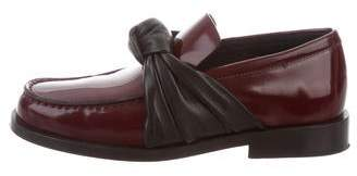 538ae731017 Celine Round-Toe Bow Loafers