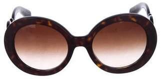cd9b2eb3a22b ... 50% off pre owned at therealreal prada baroque swirl sunglasses eb729  8c93b ...