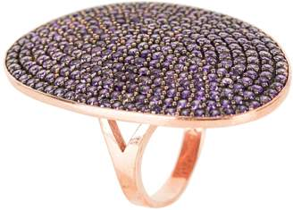 Latelita London - St Tropez Ring Rosegold Amethyst Zircon