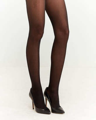 4d4e2fc4cbb01 Emilio Cavallini Black Semi-Sheer Tights