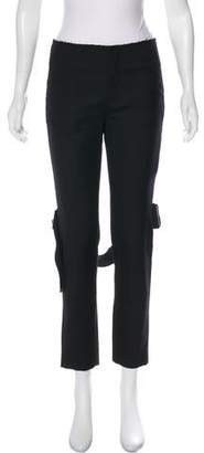 MS MIN Mid-Rise Straight-Leg Pants w/ Tags