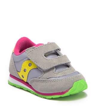 Saucony Jazz Suede Hook-and-Loop Sneaker (Baby, Toddler, & Little Kid)