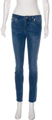 Ted Baker Mid-Rise Skinny Jeans