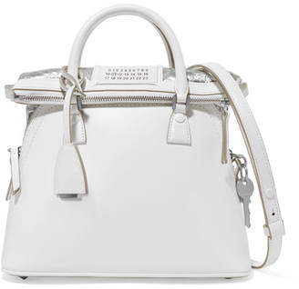 Maison Margiela - 5ac Baby Leather Tote - White $2,450 thestylecure.com