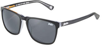 Superdry Ichi Plastic Universal-Fit Square Sunglasses