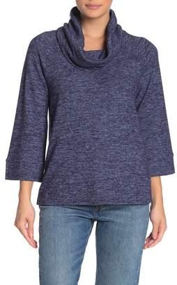 Cable & Gauge CG Cozy Tunic Turtleneck Sweater