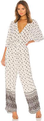 Splendid Desert Batik Print Jumpsuit