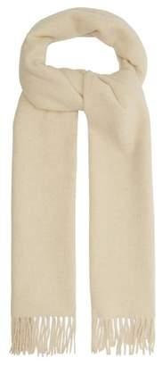De Bonne Facture - Arles Wool Blend Scarf - Mens - Cream