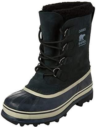 Sorel Men's Caribou Boots, Black (Tusk), Size UK: 9