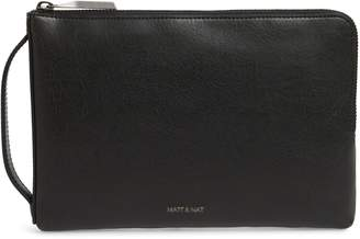 Matt & Nat Large Seva Faux Leather Pouch Wallet