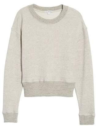 James Perse Plush Terry Sweatshirt