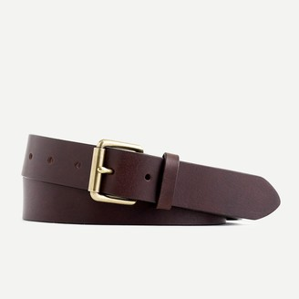 J.Crew Roller-buckle leather belt