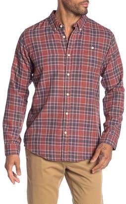 Ezekiel Coldwater Plaid Long Sleeve Regular Fit Shirt