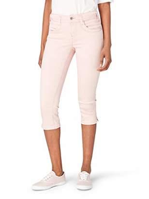 32e004bf480d90 Tom Tailor NOS) Women's Alexa Capri Jeanshose Slim Jeans, (Sky Captain Blue  10668