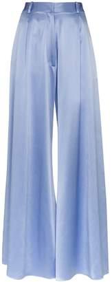 Michael Lo Sordo high-waisted wide-leg trousers