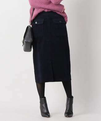 La Totalité (ラ トータリテ) - La TOTALITE SONO フラップポケットスカート