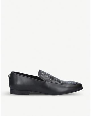 Kurt Geiger London Palermo studded leather loafers
