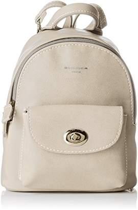 David Jones Women's CM3716 Backpack Handbag Grey