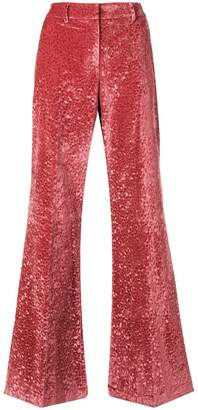 L'Autre Chose flared tailored trousers