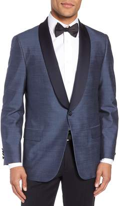 Hickey Freeman Classic B Fit Silk Dinner Jacket