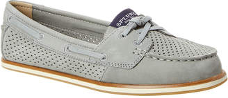 Sperry Women's Strand Key Perforated Suede Boat Shoe