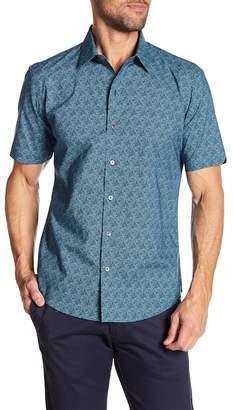 Zachary Prell Machnee Short Sleeve Modern Fit Shirt