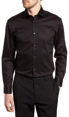 John Varvatos Slim Fit Stretch Solid Dress Shirt