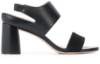 Stuart Weitzman mid-high block heel sandals