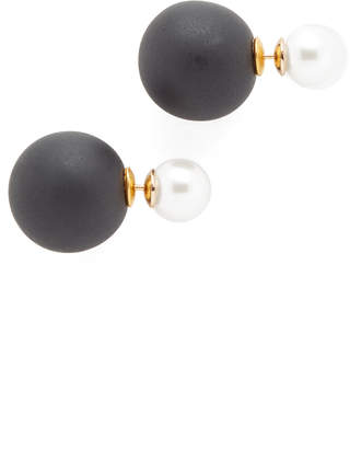 Shashi Double Ball Earrings $36 thestylecure.com