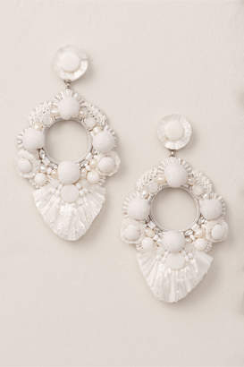 bada33cca Ranjana Khan Jesara Raffia Earrings