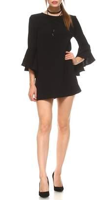 Tcec Black Trumpet Dress