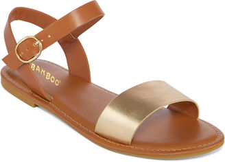 Bamboo Bayside Ankle-Strap Sandals $60 thestylecure.com