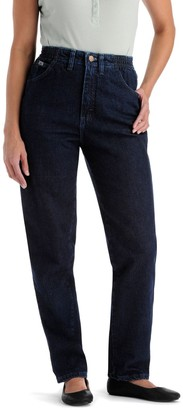 Lee Women's Relax Fit Side-Elastic Jeans
